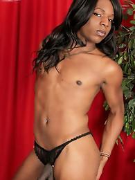 Ebony TS who loves fucking