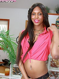 Emily B is a stunning statuesque girl with a beautiful face, sexy hormone tits with puffy nipples. a hot ass and a big sexy cock! Great looking new gi