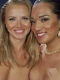 Jessica Fox and Alina Long