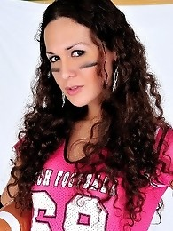 Horny Football tgirl Nikki