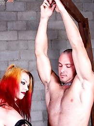Mistress Tempest gives Paul a grinding like he's never had before!