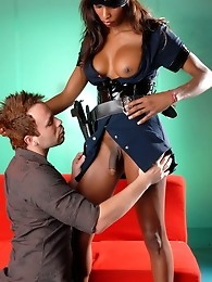 Natassia Controls Her Submissive Bottom Danny