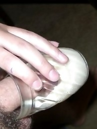 Nikki cock shots and peeing on the dirty toilet