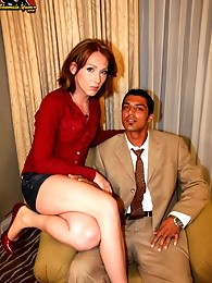 In Detroit, tranny Athena seduces Jim with her pouty lips and delicate touch. Jim's cock immediately rises to attention and he sucks Athena dry!