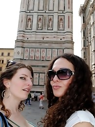 Sexy transsexual Nikki visiting Italy