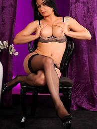 Silky stockings